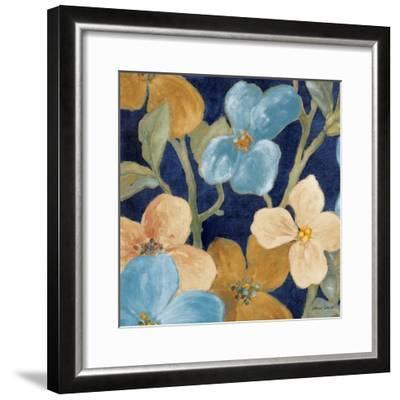 Blue Garden Party I-Lanie Loreth-Framed Premium Giclee Print