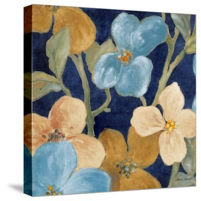 Blue Garden Party I-Lanie Loreth-Stretched Canvas Print