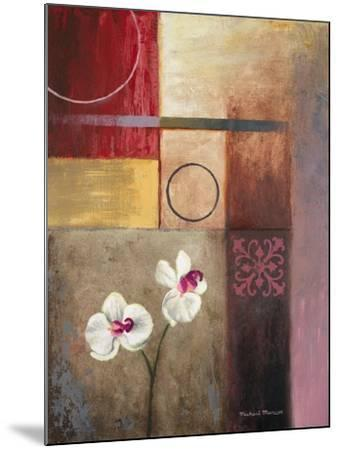Flowers and Abstract Study I-Michael Marcon-Mounted Premium Giclee Print