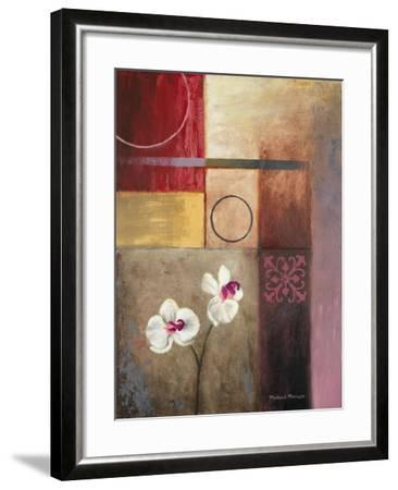 Flowers and Abstract Study I-Michael Marcon-Framed Premium Giclee Print