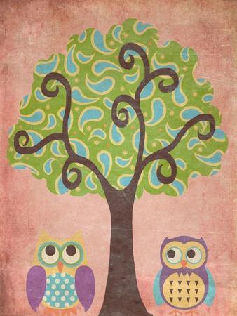Wisdom in Trees I-Andi Metz-Framed Premium Giclee Print