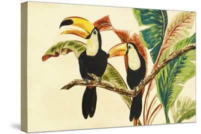 Tropical Toucans I-Linda Baliko-Stretched Canvas Print