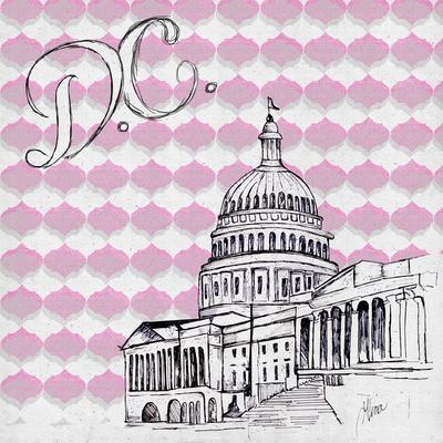 Textile D.C.-Gina Ritter-Framed Premium Giclee Print