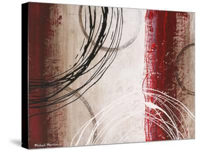 Tricolored Gestures I-Michael Marcon-Stretched Canvas Print