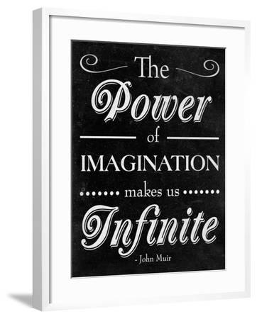 Power of Imagination--Framed Premium Giclee Print