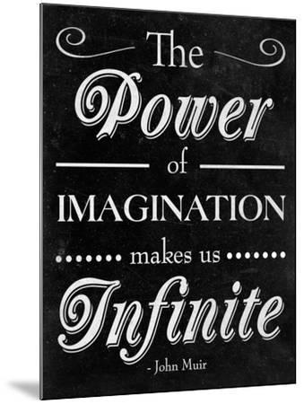 Power of Imagination--Mounted Premium Giclee Print