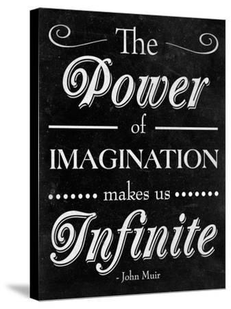 Power of Imagination--Stretched Canvas Print