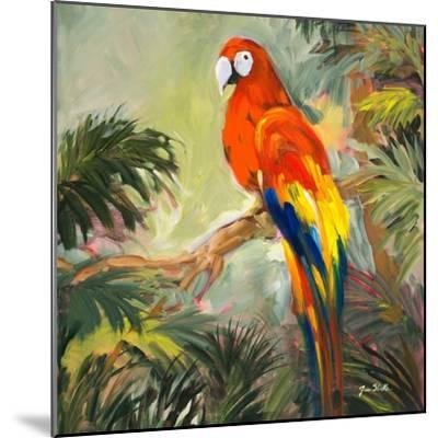 Parrots at Bay I-Jane Slivka-Mounted Premium Giclee Print