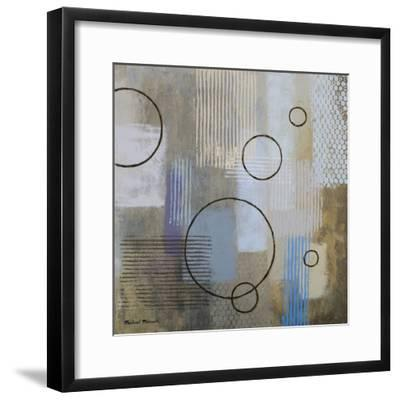 Rain Abstract II-Michael Marcon-Framed Premium Giclee Print