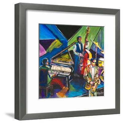 A Nite in Birdland I-Everett Spruill-Framed Art Print