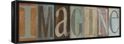 IMAGINE-Patricia Pinto-Framed Stretched Canvas Print
