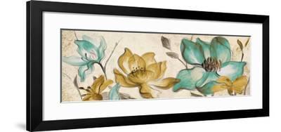 Whisper of Teal Panel II-Lanie Loreth-Framed Premium Giclee Print