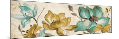 Whisper of Teal Panel II-Lanie Loreth-Mounted Premium Giclee Print