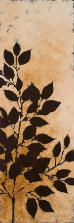 Leaves Silhouette I-Lanie Loreth-Framed Art Print