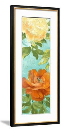 Beauty of the Blossom Panel II-Lanie Loreth-Framed Premium Giclee Print