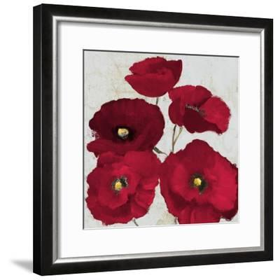 Kindle Poppies II-Lanie Loreth-Framed Art Print