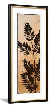 Leaves Silhouette II-Lanie Loreth-Framed Art Print