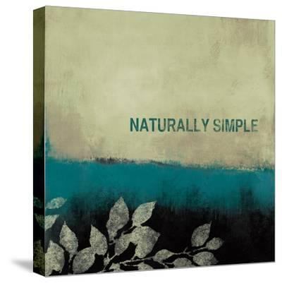Naturally Simple-Lanie Loreth-Stretched Canvas Print