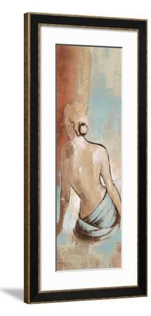 Seated Woman Panel I-Lanie Loreth-Framed Premium Giclee Print