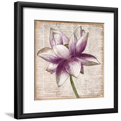 Defined Lotus I-Patricia Pinto-Framed Premium Giclee Print