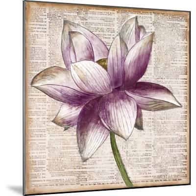 Defined Lotus I-Patricia Pinto-Mounted Premium Giclee Print