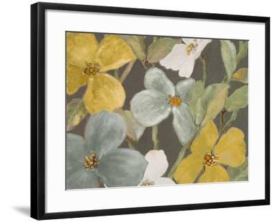 Garden Party in Gray II-Lanie Loreth-Framed Premium Giclee Print