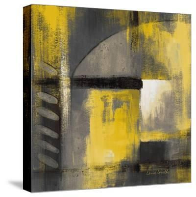Grey and Yellow Soiree I-Lanie Loreth-Stretched Canvas Print