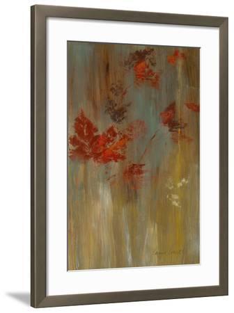 Tranquil Landscape III (Greens)-Lanie Loreth-Framed Premium Giclee Print