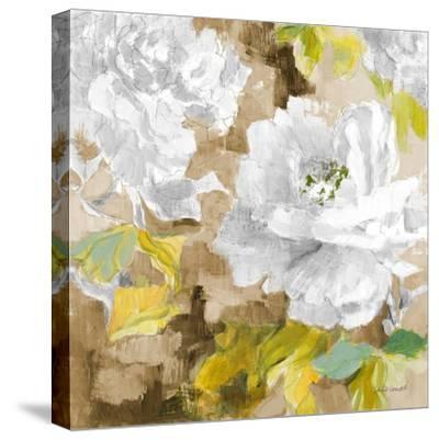 White Modern Peonies I-Lanie Loreth-Stretched Canvas Print