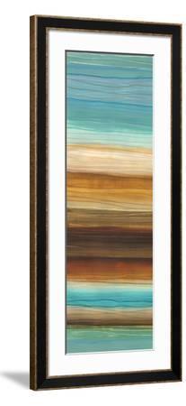 Illumine I - Stripes, Layers-Jeni Lee-Framed Art Print