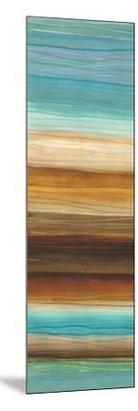 Illumine I - Stripes, Layers-Jeni Lee-Mounted Art Print