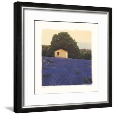Lavender Country-Amy Melious-Framed Premium Giclee Print