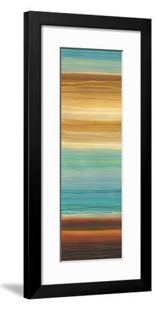 Illumine II - Stripes, Layers-Jeni Lee-Framed Art Print
