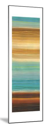 Illumine II - Stripes, Layers-Jeni Lee-Mounted Art Print