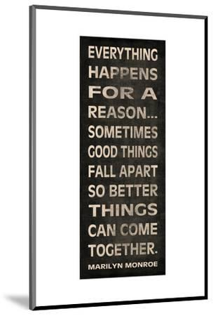 Everything Happens-N^ Harbick-Mounted Premium Giclee Print