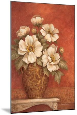Villa Flora Peonies-Pamela Gladding-Mounted Premium Giclee Print