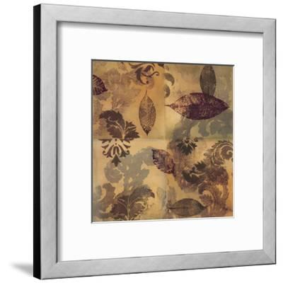 Elegant Leaves II-Jeni Lee-Framed Art Print