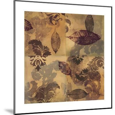 Elegant Leaves II-Jeni Lee-Mounted Art Print