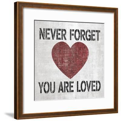 You Are Loved Sq-N^ Harbick-Framed Art Print