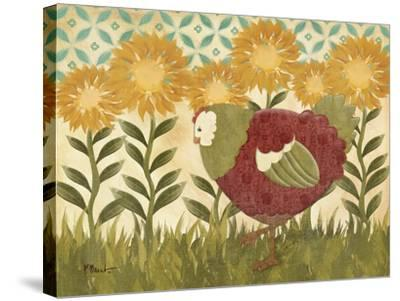 Sunny Hen II-Paul Brent-Stretched Canvas Print