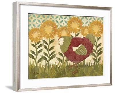 Sunny Hen II-Paul Brent-Framed Premium Giclee Print