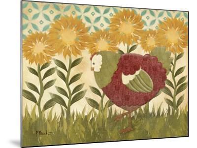 Sunny Hen II-Paul Brent-Mounted Premium Giclee Print