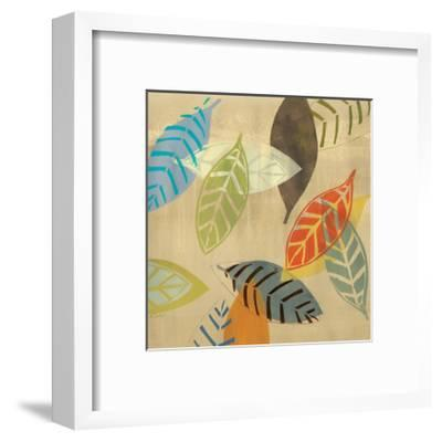 Autumn Leaves I-Jeni Lee-Framed Art Print