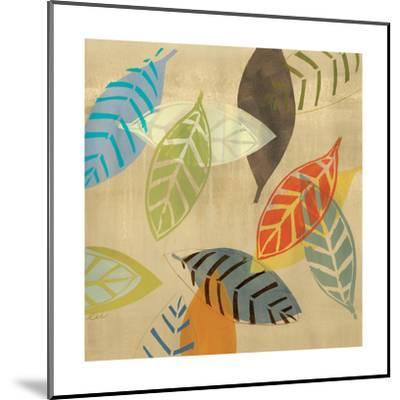 Autumn Leaves I-Jeni Lee-Mounted Art Print