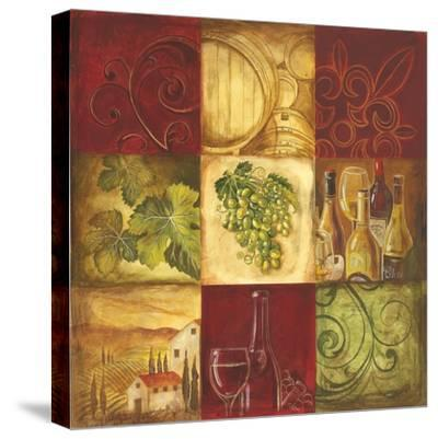 Tuscan Wine I-Gregory Gorham-Stretched Canvas Print