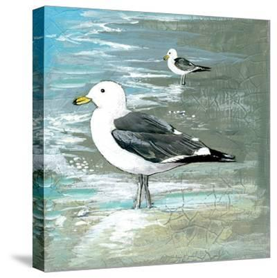 Sea Birds I-Gregory Gorham-Stretched Canvas Print
