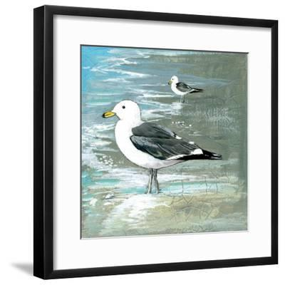 Sea Birds I-Gregory Gorham-Framed Art Print