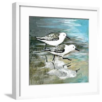 Sea Birds II-Gregory Gorham-Framed Art Print