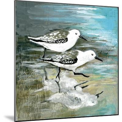 Sea Birds II-Gregory Gorham-Mounted Art Print