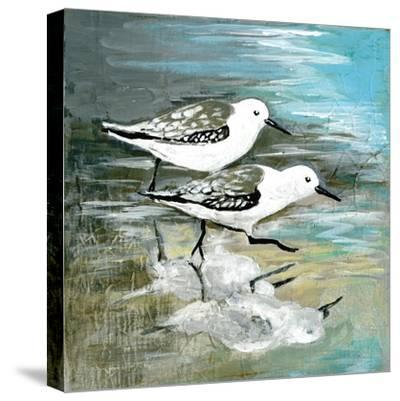 Sea Birds II-Gregory Gorham-Stretched Canvas Print